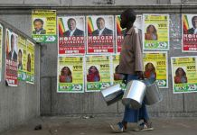 Campaign Posters: Elections in Zimbabwe an expensive exercise