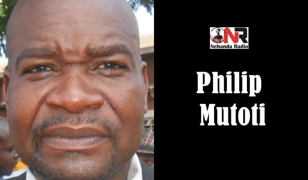 Chitungwiza mayor, Philip Mutoti