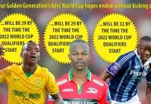 Shattered Dreams for Zimbabwean stars like Kuda Mahachi, Knowledge Musona and Nyasha Mushekwi