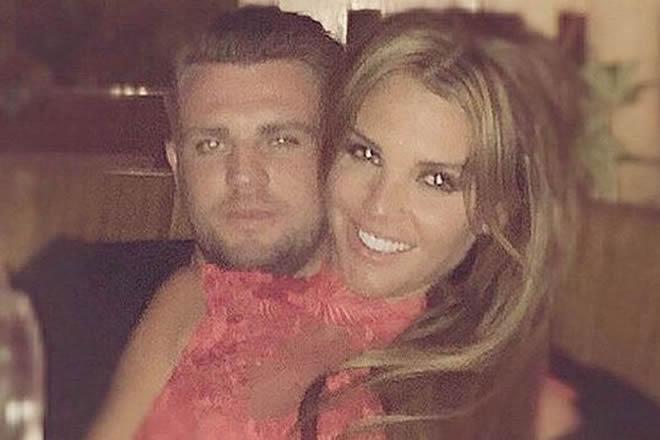 Danielle Lloyd and Tom Jimson in happier times