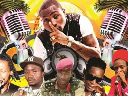 Davido, Seh Calaz, Killer T, Jah Prayzah, Soul Jah Love and Winky D