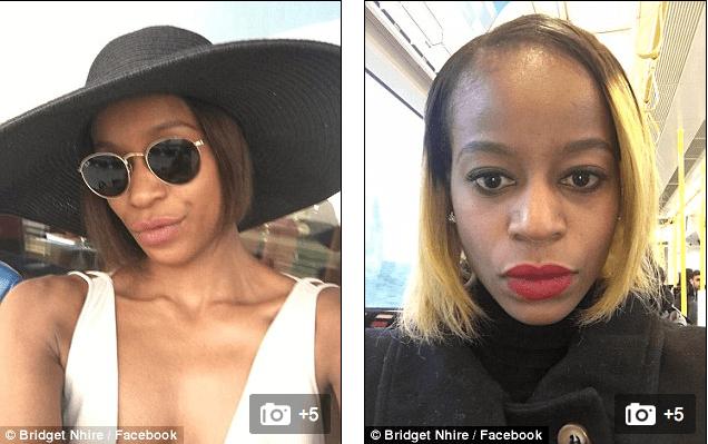 Bridget Nhire, 33, was banned after a row on a Heathrow to Dubai flight