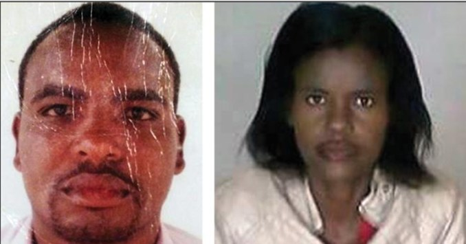 Charles Cecil Brewer, accused in the house of horror in Tembisa and Petition Madida, one of the accused gang members.Picture:TNA