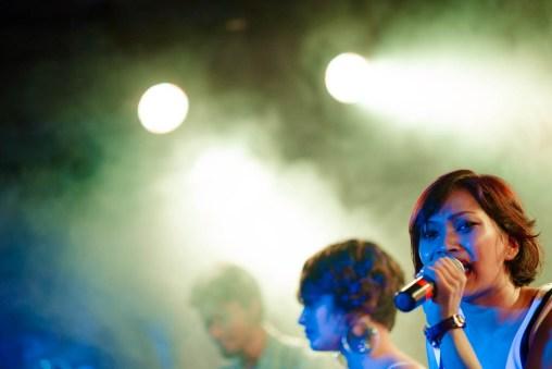 Alex, killing it on stage