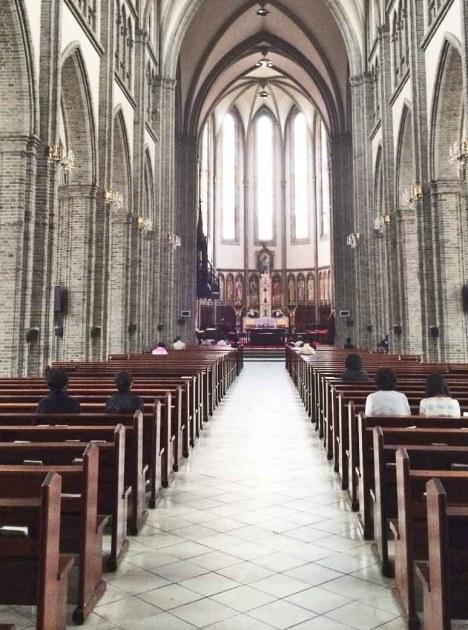 明洞大聖堂中