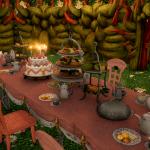 【FF14】「不思議の国のアリス」風ハウジングレイアウト!お茶会部屋とトランプカラーのリビング【画像あり】