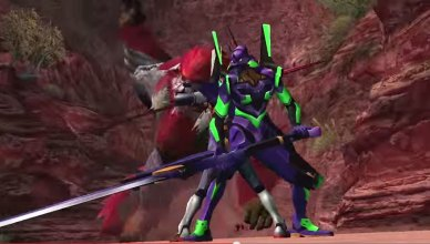 monster hunter evangelion