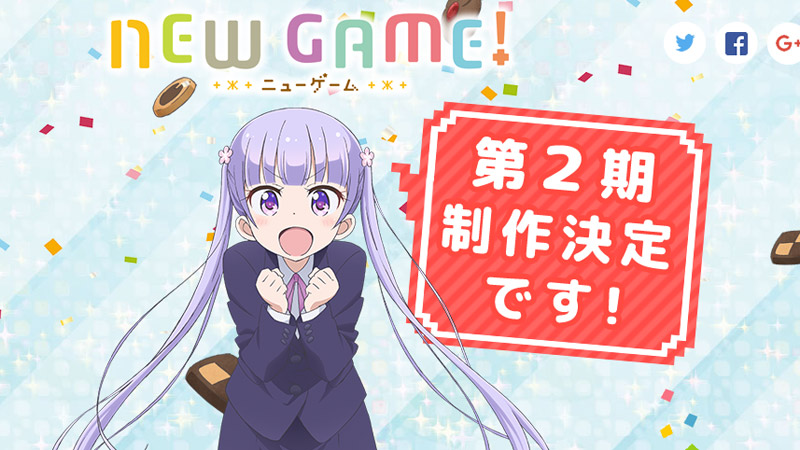 New Game! season 2