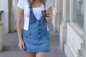 YouTube | How to Style Overalls | Pinterest Inspired