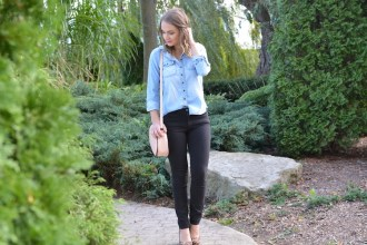 Chambray and Leopard