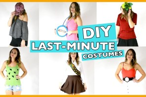 Last Minute DIY Halloween Costumes in One Minute