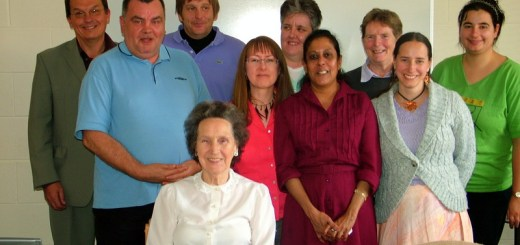Billy, second fom left, with North Edinburgh's Social Action Research Group