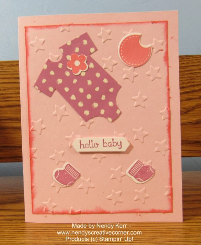 Baby Card for Lily