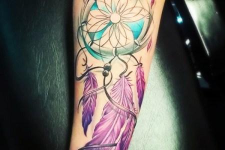 dreamcatcher tattoo design 34
