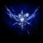 氷の結晶のようなオーナメント(4パターン)