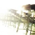 光射す教室(2パターン)