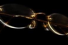 メガネの写真素材