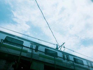 【高解像度】山手線と空