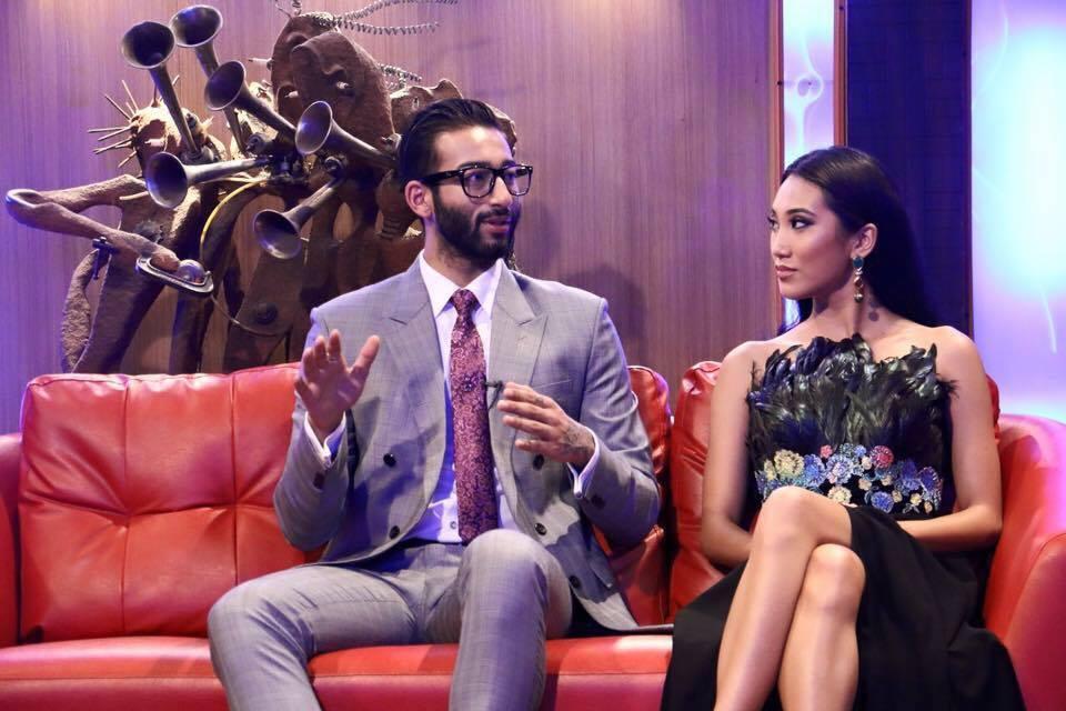 Photo: Namaste TV Show