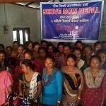 विपन्न बस्तीमा सिप फैलाउँदै सर्भ नाउ नेपाल