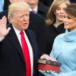 अमेरिकाको ४५ औं राष्ट्रपति डोनाल्ड ट्रम्पको सपथ