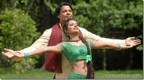 sumina ghimire with biraj bhatta