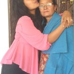 rajani-kc-with-mother-before-leving-to-Pokhara-for-braclet-shooting-3.jpg