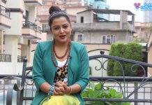 Rekha-Thapa-for-Earthquake-Relief-Interview