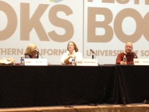 K.C. Cole, Deborah Harkness, and Tim Page