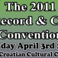 This Sunday is our semi-annual Record & CD Convention at The Croatian Cultural Center (3250 Commercial Drive). Admission is $3 11am-5pm (No Early Bird!) For more info call us (604-324-1229)...