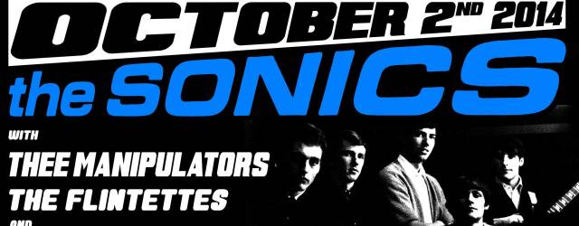 This just in! Thee Manipulators are filling in for The Evaporators opening for The Sonics! This will be one of only two reunion shows! It's the return of Vancouver's own […]
