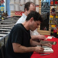Max Brooks at Midtown Comics