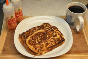 A delicious French toast by NerdMeetsFood