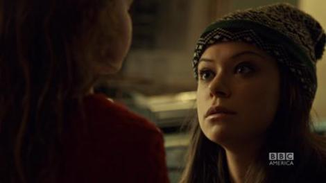Momma didn't raise no fool. Even with a convincing accent and plenty of eyeliner, Kira sees right through Alison.