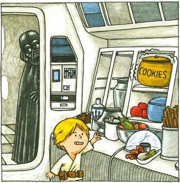Uma segunda chance para Darth Vader ser pai