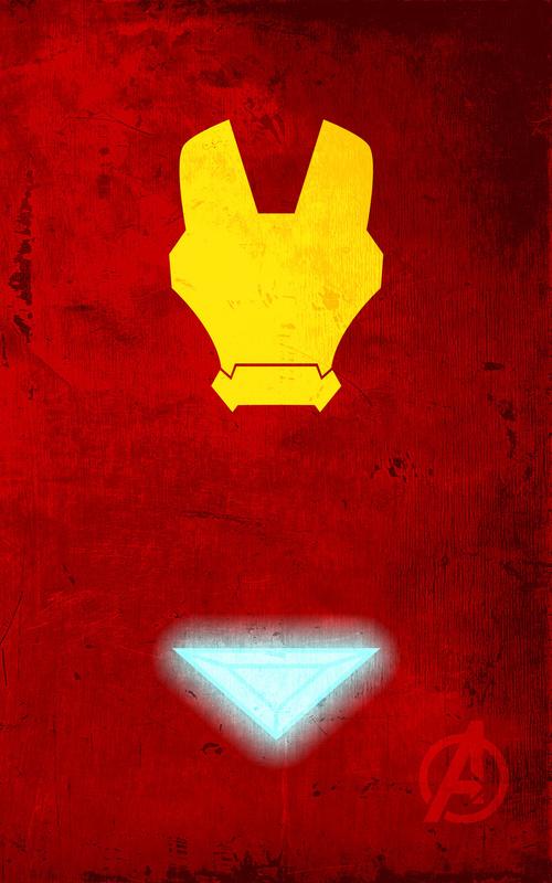 iPhone Wallpaper  – Os Vingadores homem de ferro