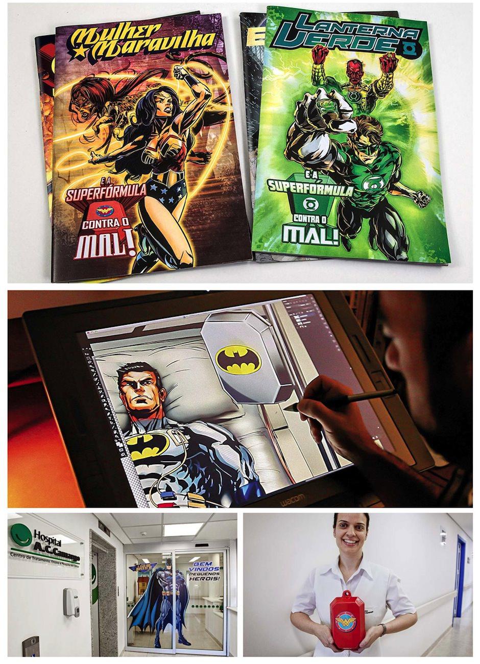 Super-heróis contra o câncer Infantil - ac camargo