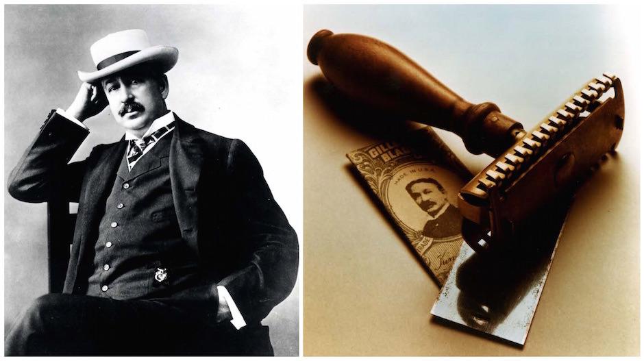 King Gillette e a primeira lâmina