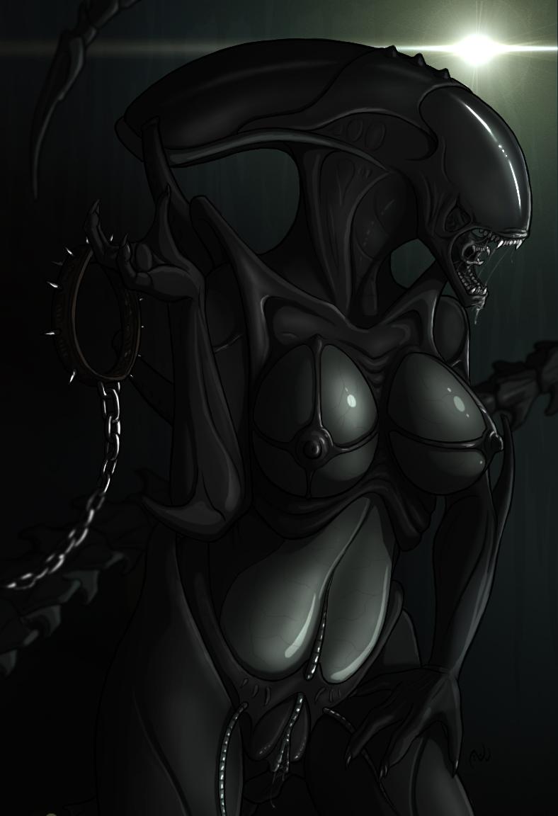 alien female xenomorph porn blowjob - DATAWAV