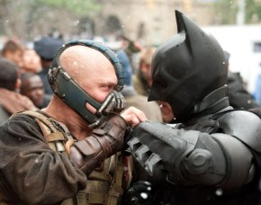 Bane and Batman from The Dark Knight Rises