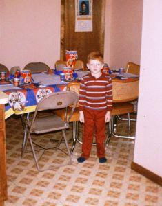 Once A Nerd: The author prepares for a 'He-Man'-themed birthday. (Russ Kazmierczak Jr.)