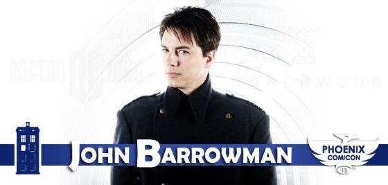 John Barrowman at Phoenix Comicon 2013