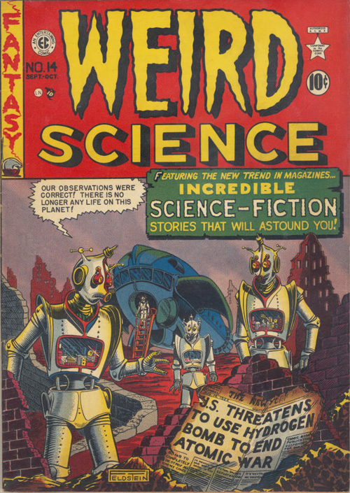 Weird Science #14 - Sept./Oct. 1950