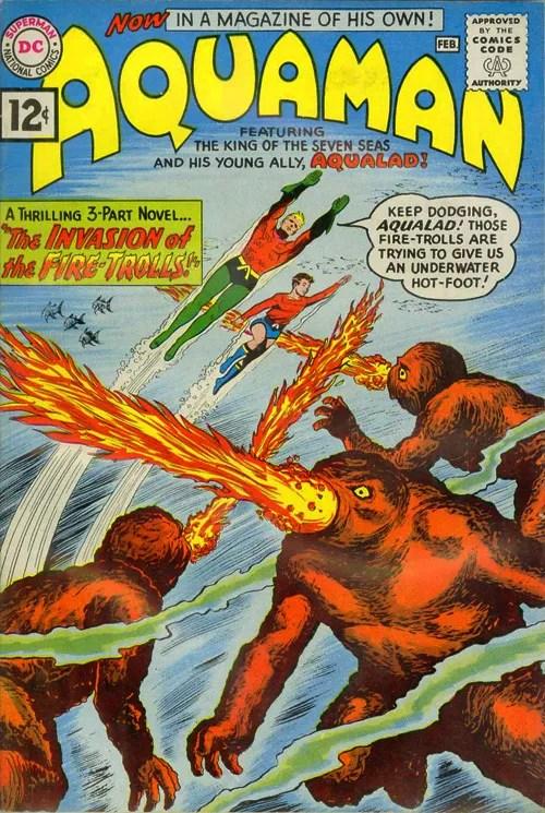 Aquaman #1 – February, 1962