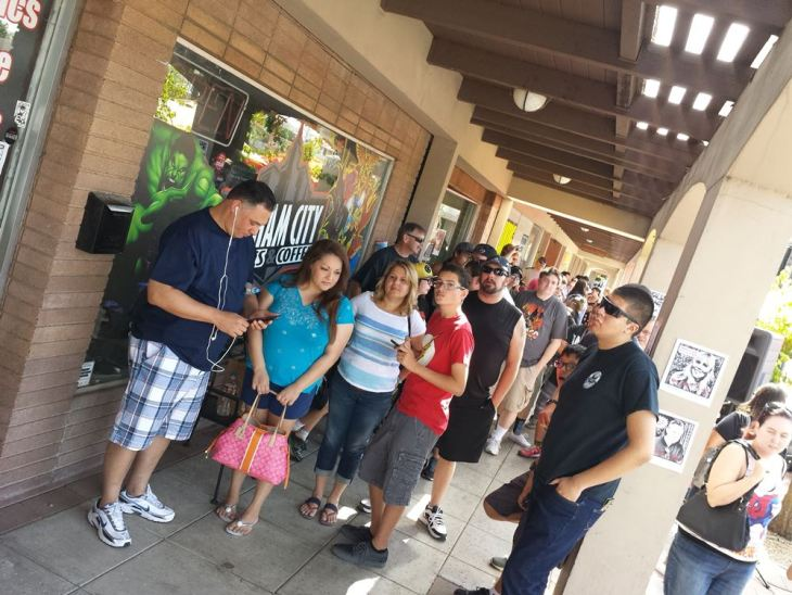 Gotham City Comics & Coffee - FCBD 2015