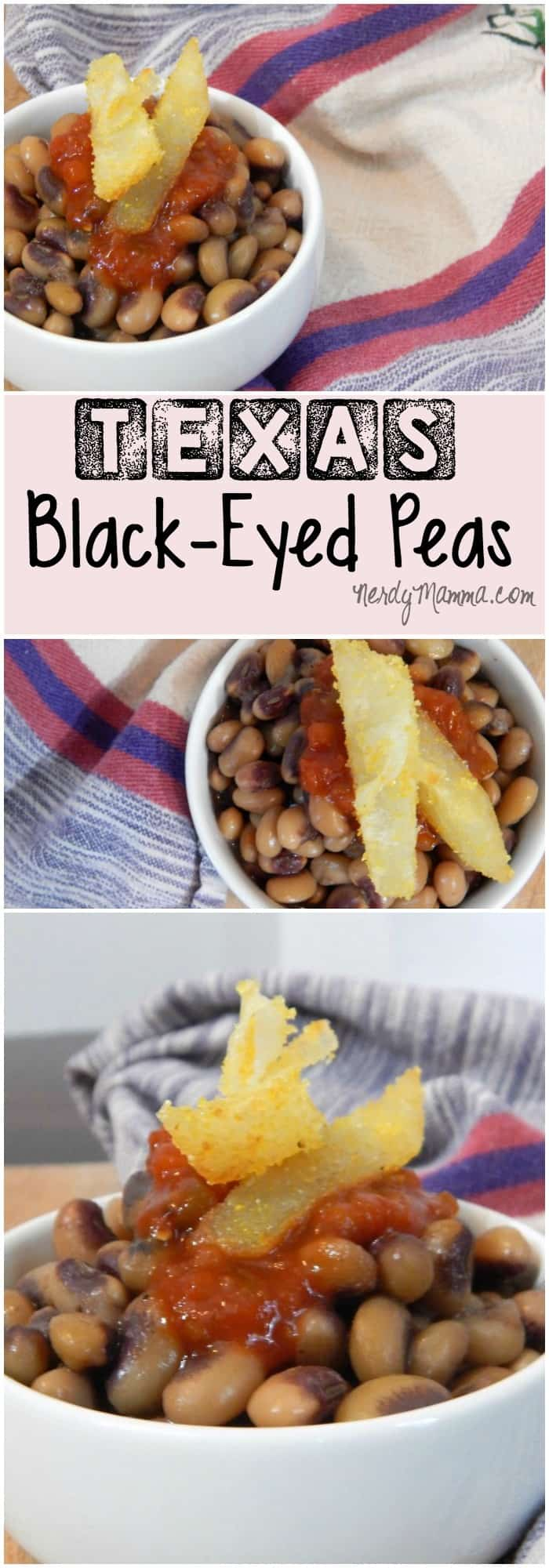 how to make southern style black eyed peas