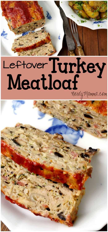 Leftover turkey meatloaf for Leftover thanksgiving turkey recipes