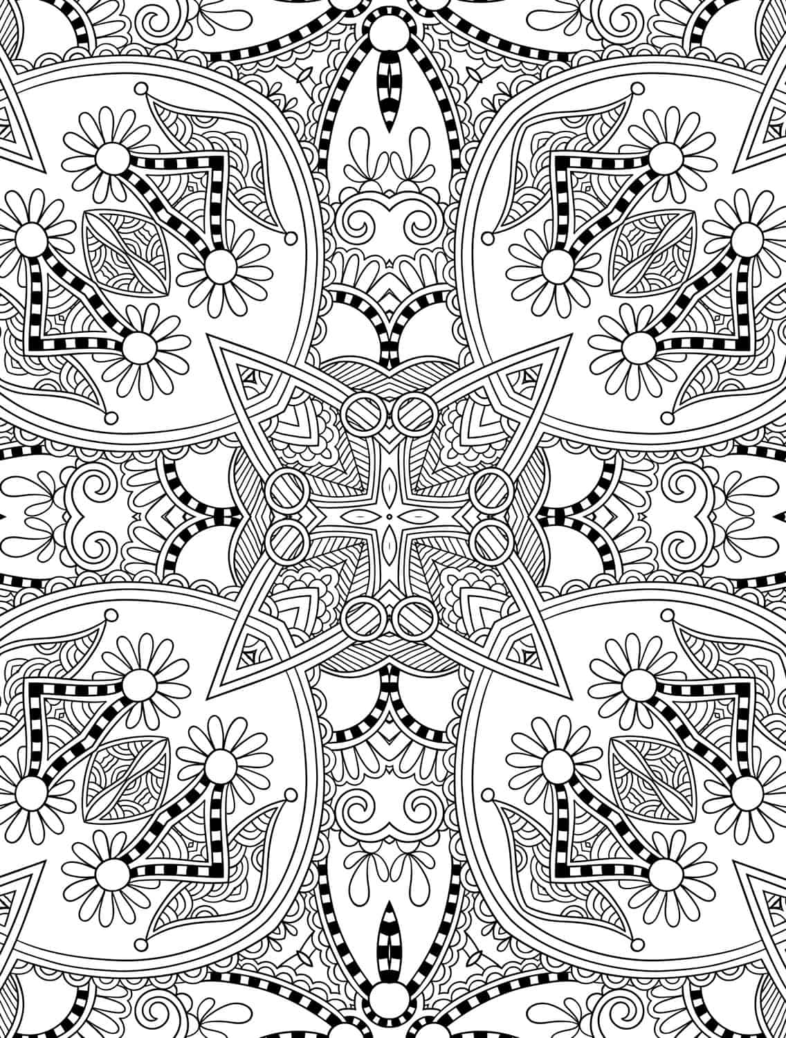 Christmas Colouring Pages For Adults Pdf : Free printable holiday adult coloring pages