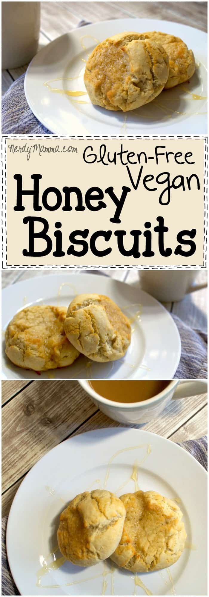 vegan honey biscuits is SO AWESOME. It looks so easy and the biscuits ...