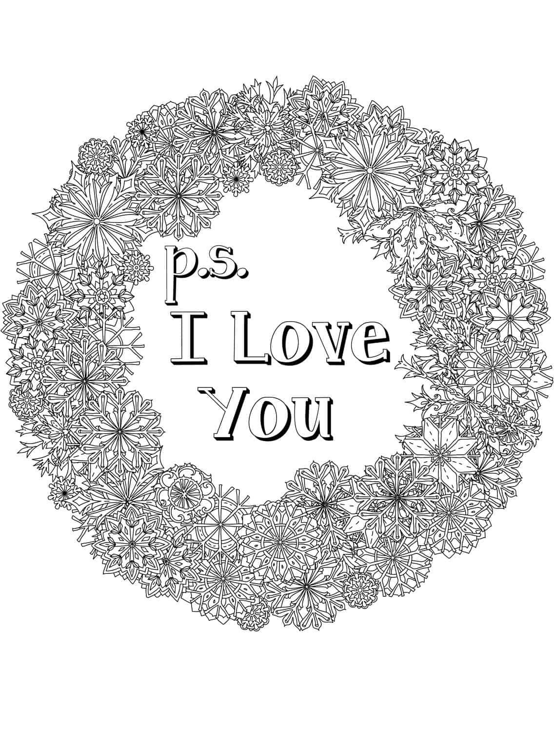 Printable Coloring Pages For Adults Love : Free printable valentines adult coloring pages page